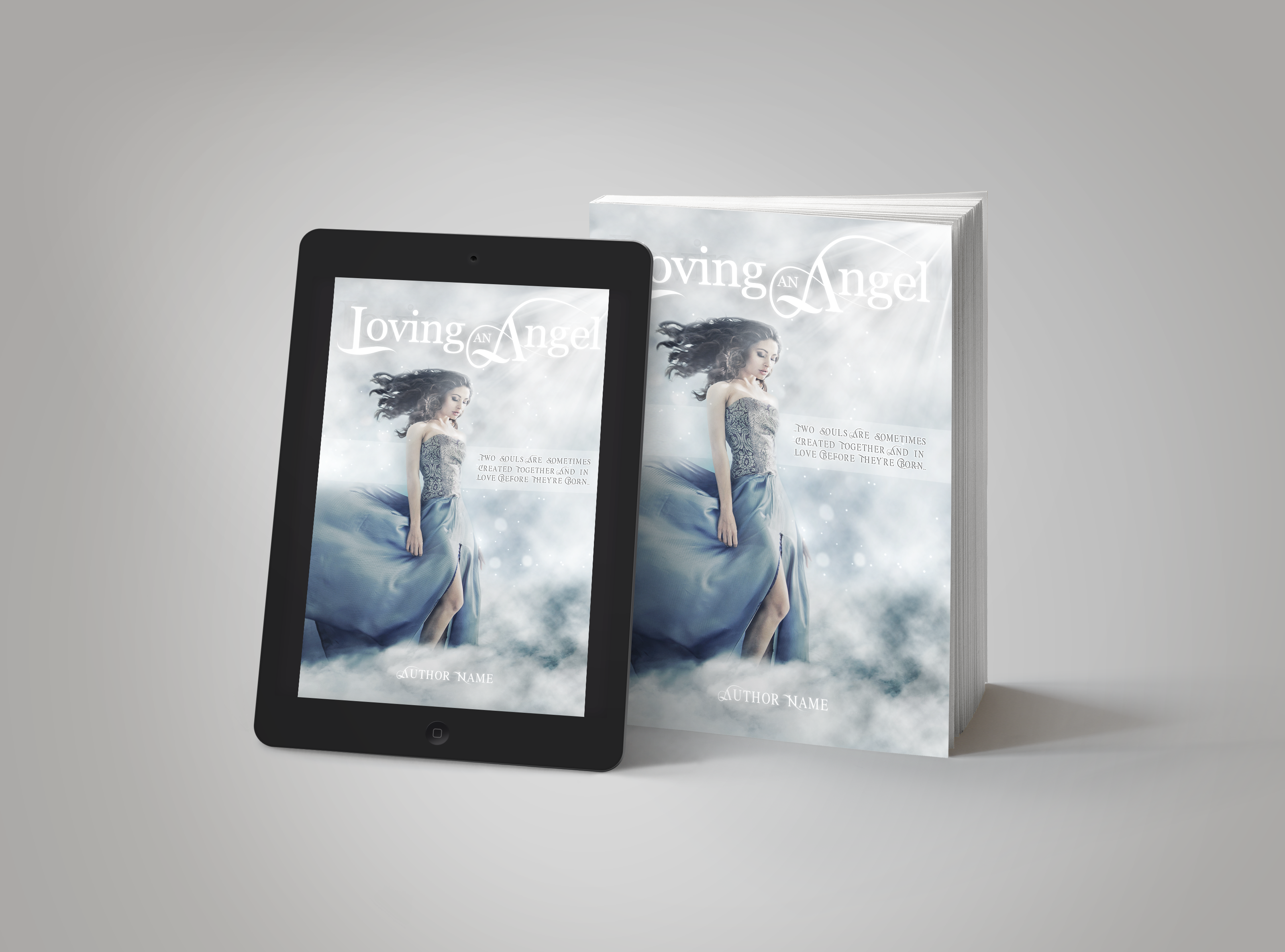 Premade Book Cover Loving An Angel
