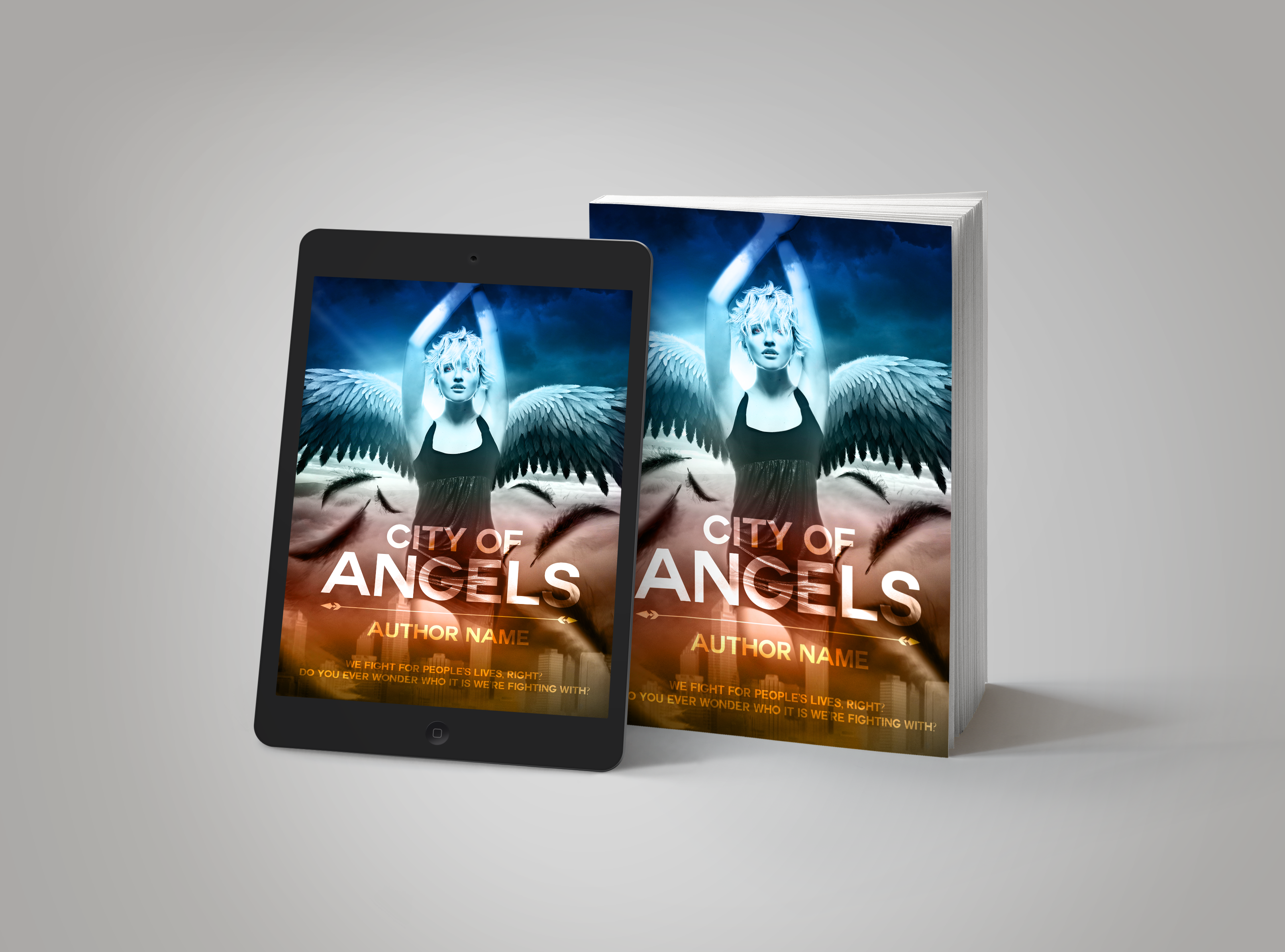 Premade Book Cover City of Angels