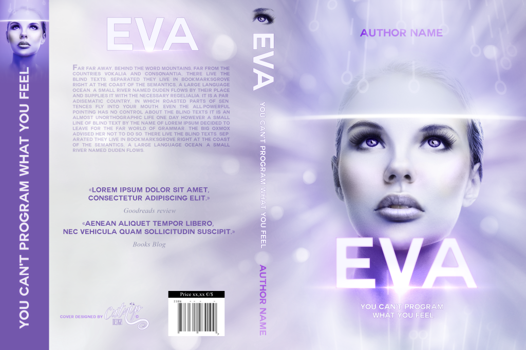 Premade Book Cover EVA