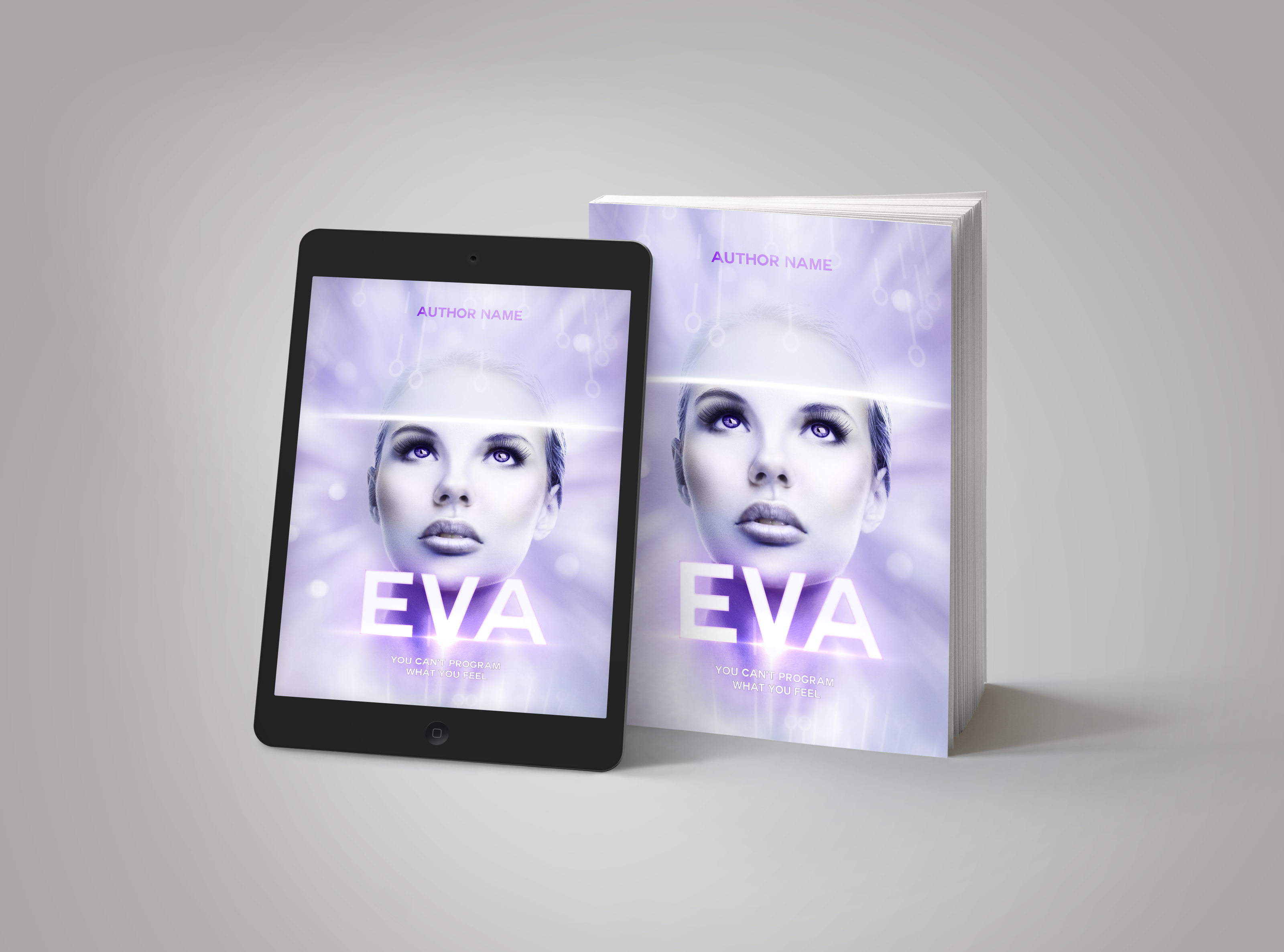 Premade Book Cover EVA