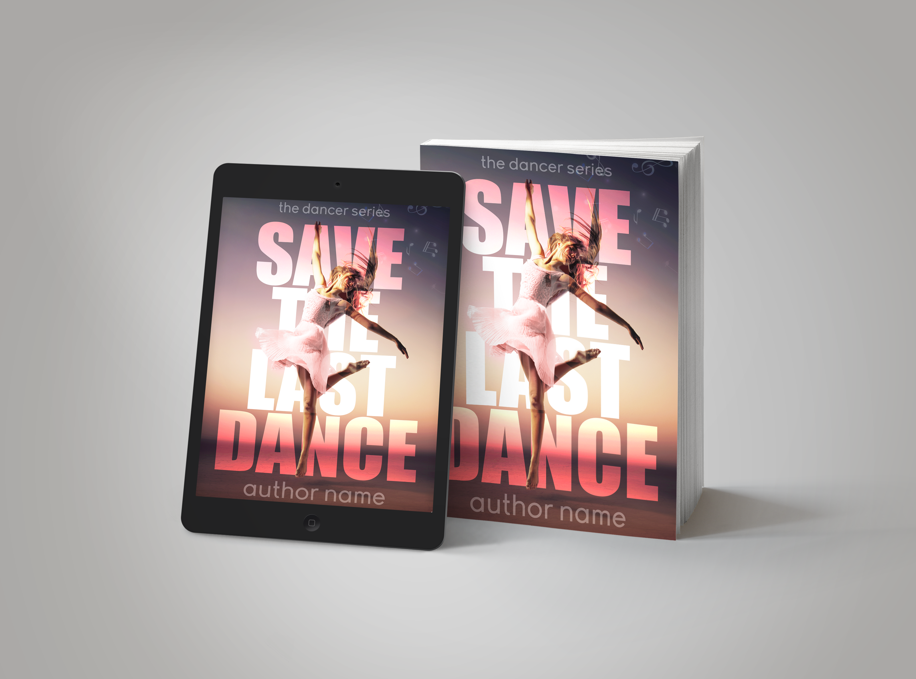 Premade Book Cover Save the last dance