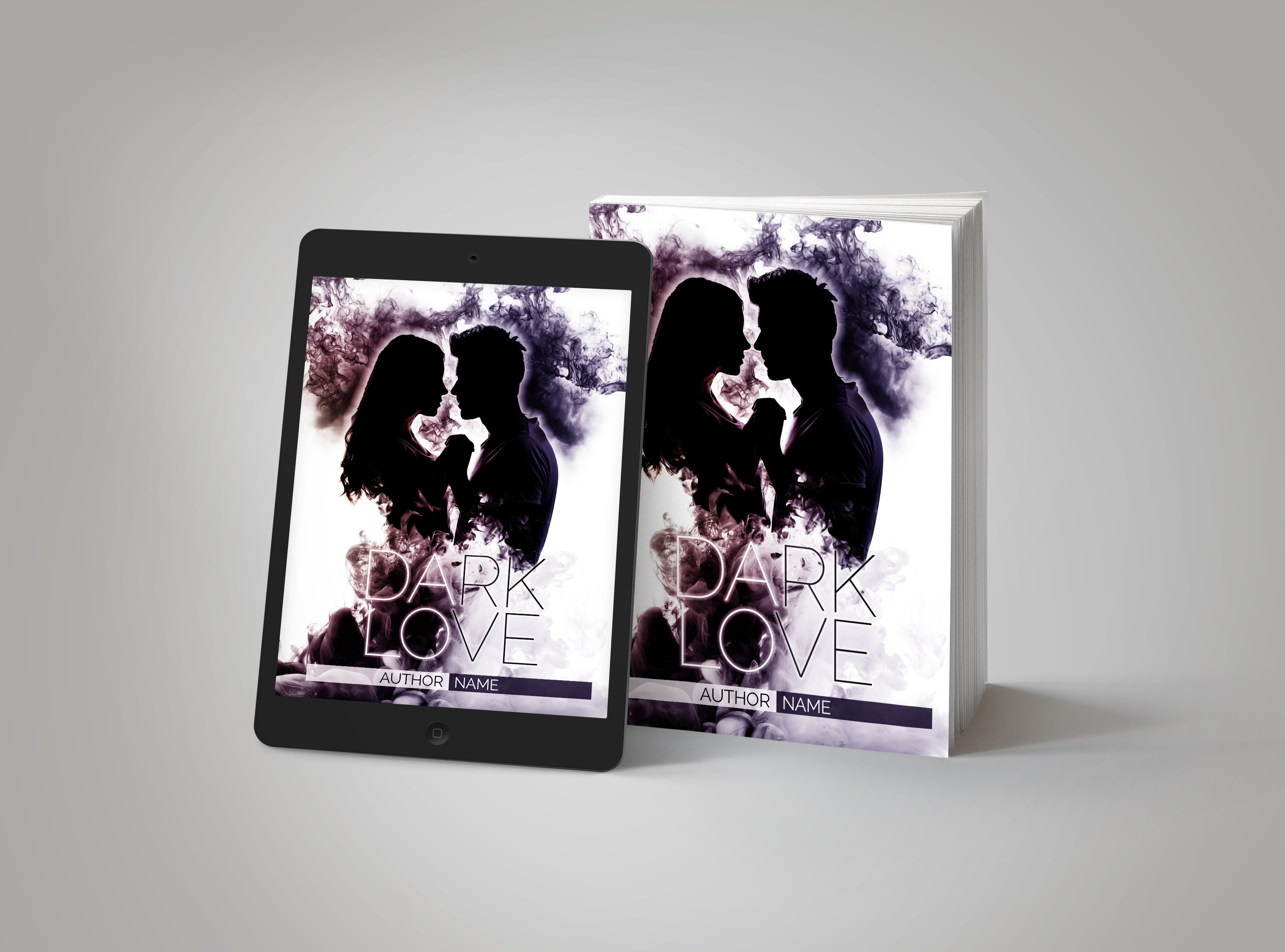 Premade Book Cover Dark Love